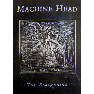 drapeau Machine Head 'The Blackening', HEART ROCK, Machine Head