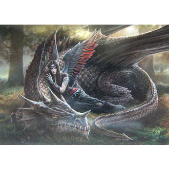 drapeau Anne Stokes - Winged Compagnons, ANNE STOKES, Anne Stokes