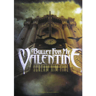 drapeau Bullet For My Valentine - Scream Aim Fire, HEART ROCK, Bullet For my Valentine