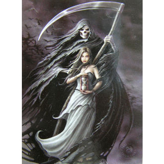 drapeau Anne Stokes - Summon The Reaper, ANNE STOKES