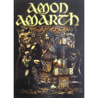 Drapeau Amon Amarth HFL 1027, HEART ROCK, Amon Amarth