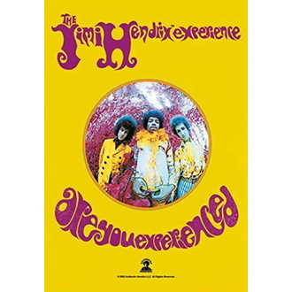 Drapeau Jimi Hendrix - Are you Experienced, HEART ROCK, Jimi Hendrix