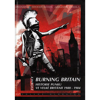 livre Burning Britain, Punk