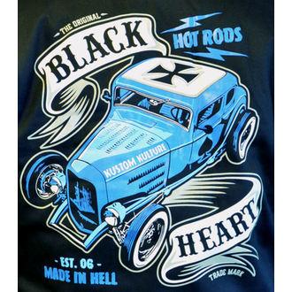 sweat-shirt avec capuche pour hommes - BRUISER - BLACK HEART, BLACK HEART