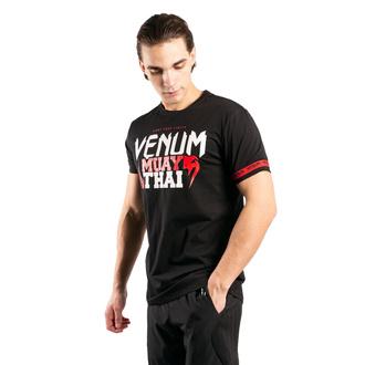 T-shirt Venum pour hommes - MUAY THAI Classic 20 - Noir / rouge, VENUM