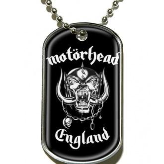 collier 'de chien plaque' Motörhead 'England' - DT019, RAZAMATAZ, Motörhead