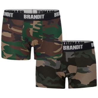 Boxer pour hommes (2 pièces) BRANDIT - 4501-woodland+dk.camo