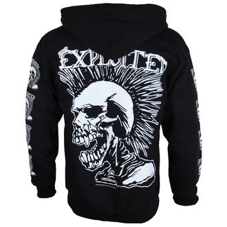 sweat-shirt pour hommes The Exploited 'Mohican Skull' ZH112, RAZAMATAZ, Exploited