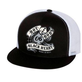 casquette BLACK HEART - LOLA - BLANC, BLACK HEART