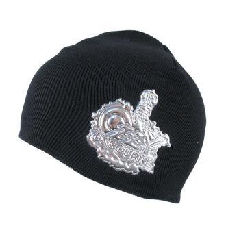bonnet Ozzy Osbourne 'Crest Logo' OZBEAN01 ROCK OFF, ROCK OFF, Ozzy Osbourne