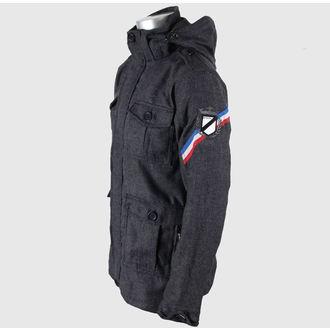 veste pour  hommes printemps / automne (en tissu) MEATFLY 'Monogramme, MEATFLY