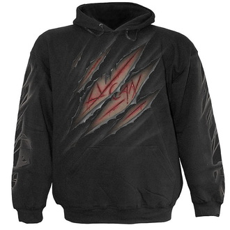sweat-shirt avec capuche pour hommes - Lycan Tribe - SPIRAL, SPIRAL