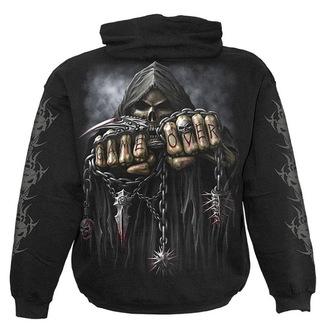 sweat-shirt avec capuche pour hommes - Black - SPIRAL, SPIRAL