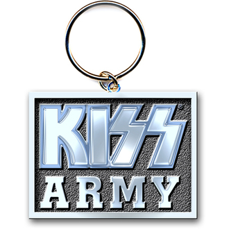 porte-clés (pendentif) KISS 'Armée Block' ROCK OFF, ROCK OFF, Kiss