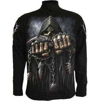 sweat-shirt sans capuche pour hommes - Black - SPIRAL, SPIRAL