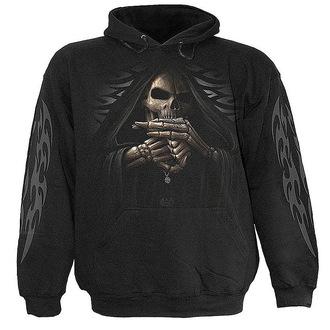 sweat-shirt avec capuche pour hommes - Bone Finger - SPIRAL, SPIRAL