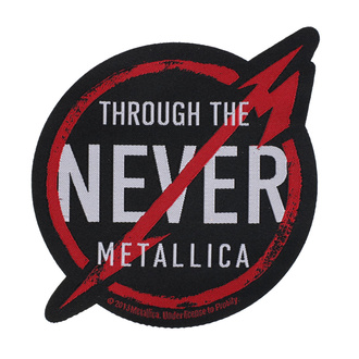 Patch Metallica - Through The Never - RAZAMATAZ, RAZAMATAZ, Metallica