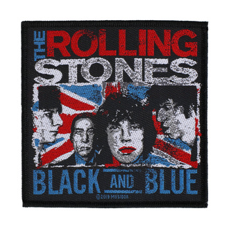 Patch le Rolling Stones - Black And Blue - RAZAMATAZ, RAZAMATAZ, Rolling Stones