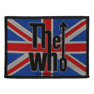 Patch The Who - Union Flag Logo - RAZAMATAZ, RAZAMATAZ, Who