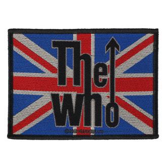 Patch The Who - Union Flag Logo - RAZAMATAZ, RAZAMATAZ, Who