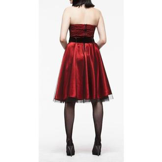 robe pour femmes HELL BUNNY 'Songstree Dress (RED / B, HELL BUNNY