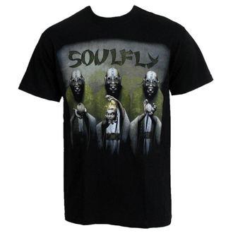 tee-shirt pour hommes RAZAMATAZ Soulfly 'Envy / Colère / Sloth EUROPE 2010', RAZAMATAZ, Soulfly
