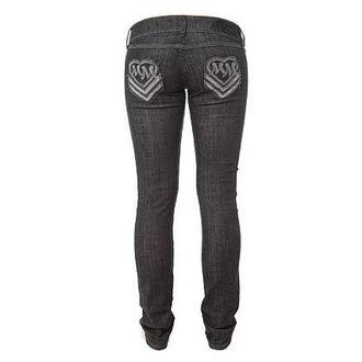 pantalon pour femmes (jean) METAL MULISHA 'Heart Love Skinny, METAL MULISHA