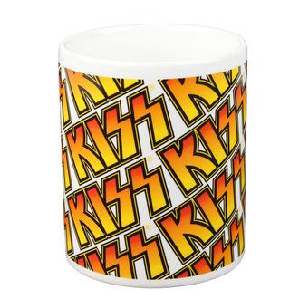 tasse - KISS - Boxed Tasse Kiss (Tiles) - ROCK OFF, ROCK OFF, Kiss