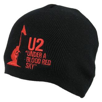 bonnet U2 - U2 Beanie Hat Under A Blood Rouge Sky - ROCK OFF, ROCK OFF, U2