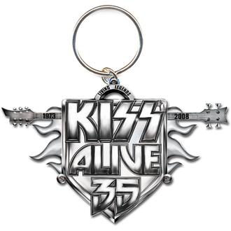 Pendentif Kiss -  porte-clés Alive 35 Tour- ROCK OFF, ROCK OFF, Kiss
