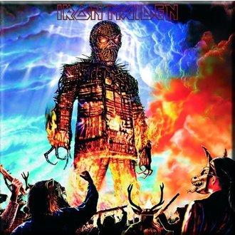 aimant Iron Maiden - Wicker Man Fridge Aimant - ROCK OFF, ROCK OFF, Iron Maiden