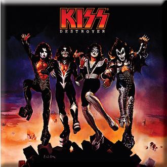aimant Kiss - Destroyer Album Couvrir Fridge Aimant - ROCK OFF, ROCK OFF, Kiss