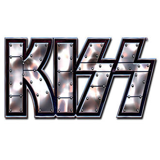 punaise Kiss - Stud Logo pin badge - ROCK OFF, ROCK OFF, Kiss