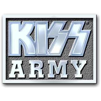punaise Kiss - Armée Block pin badge - ROCK OFF, ROCK OFF, Kiss