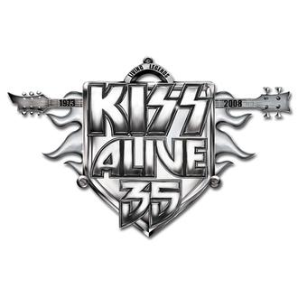 punaise Kiss - Alive 35 Tour pin badge - ROCK OFF, ROCK OFF, Kiss