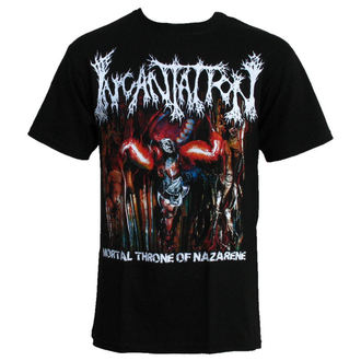 tee-shirt pour hommes INCANTATION-MORTAL THRONE, RELAPSE, Incantation