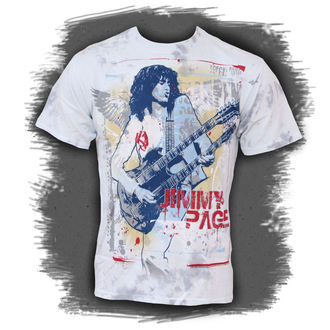tee-shirt métal Jimmy Page - Double Your Pleasure - LIQUID BLUE, LIQUID BLUE, Jimmy Page