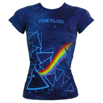 tee-shirt métal Pink Floyd - Prism Longer Length - LIQUID BLUE - 13974