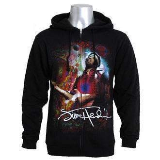 sweat-shirt avec capuche pour hommes Jimi Hendrix - Angel - LIQUID BLUE, LIQUID BLUE, Jimi Hendrix