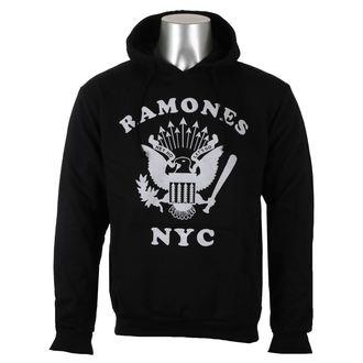 sweat-shirt avec capuche pour hommes Ramones - Retro Eagle NYC - ROCK OFF, ROCK OFF, Ramones