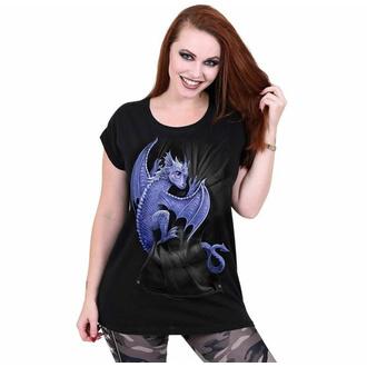 t-shirt pour femmes SPIRAL - POCKET DRAGON - Noir, SPIRAL
