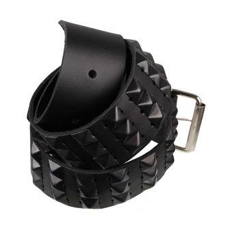ceinture PYRAMIDES 3 - PAS, BLACK & METAL