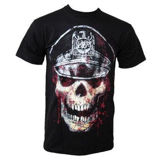 tee-shirt métal pour hommes Slayer - Skull Hat - ROCK OFF - SLAYTEE01MB