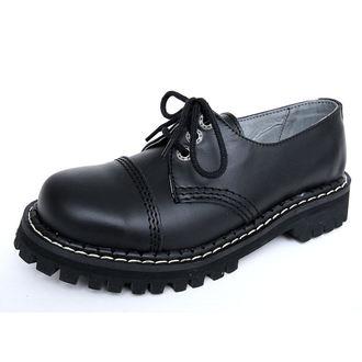 bottes en cuir - KMM - Black - 030