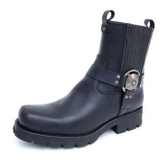 bottes en cuir pour femmes - 7605-S1 - NEW ROCK - M.7605-S1