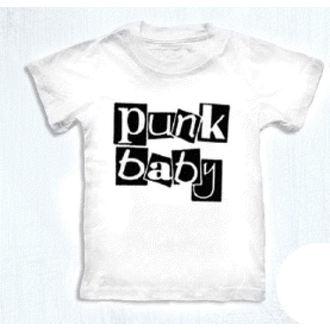 tee-shirt métal enfants - Punk Baby - ROCK DADDY - 16007-006, ROCK DADDY