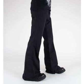 pantalon BLACK PISTOL - Loon Hipster Denim Noire, BLACK PISTOL