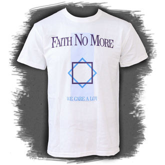 tee-shirt métal pour hommes Faith no More - We Care A Lot - PLASTIC HEAD, PLASTIC HEAD, Faith no More