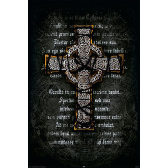 affiche Gothic Cross - Rolled, Reinders