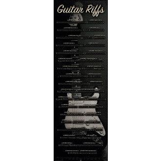 affiche Guitar - Riffs, Reinders